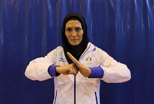 الهه منصوریان ؛ پست الهه منصوریان بعد از کسب عنوان قهرمانی