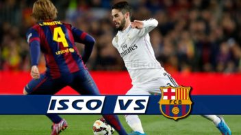 تکنیک های ایسکو در برابر بارسلونا