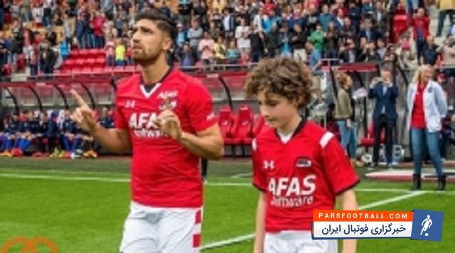 علیرضا جهانبخش در ترکیب بازی دوم آلکمار | خبرگزاری فوتبال ایران