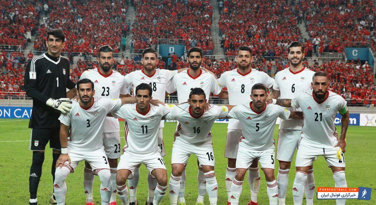 سعید عزت اللهی -ترکیب تیم ملی فوتبال ایران مقابل کره