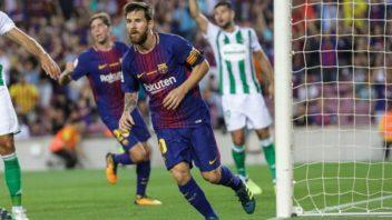 عملکرد مسی ستاره بارسلونا