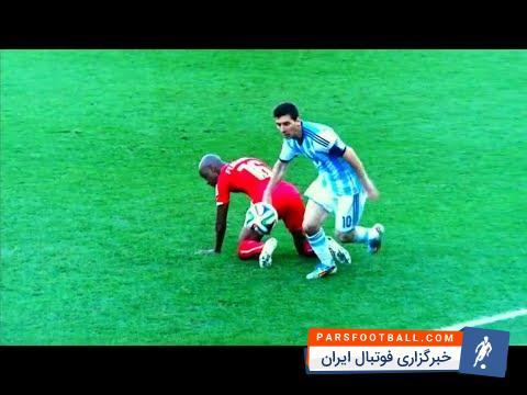 تکنیک های مسی با پیراهن آرژانتین ؛ پارس فوتبال اولین خبرگزاری فوتبال ایران