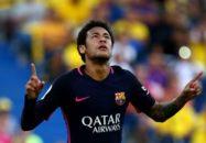 آخرین گل و اولین بازی نیمار برای بارسلونا