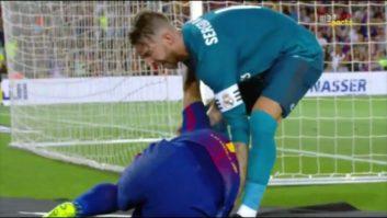 درگیری های راموس مدافع رئال مادرید