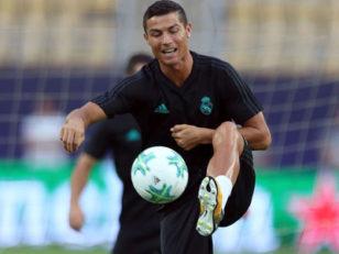 تمرینات تیم رئال مادرید