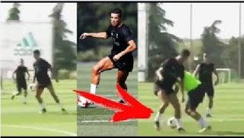 حرکت تکنیکی رونالدو در رئال مادرید