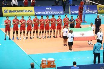 دیدار تیم ملی والیبال ایران مقابل چین