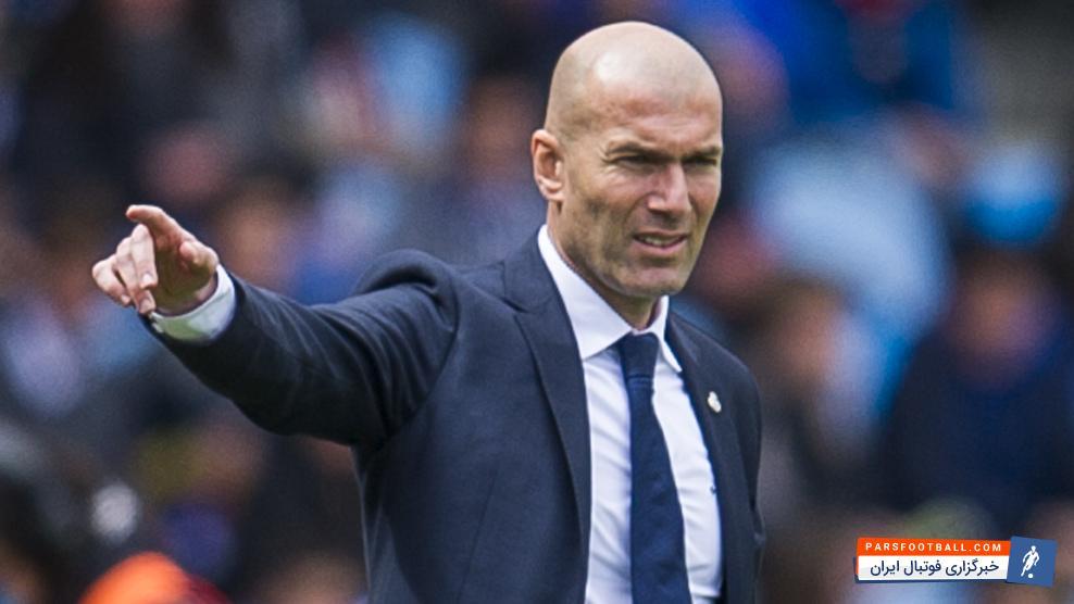 زیدان:رونالدو در رئال مادرید خوشحال است