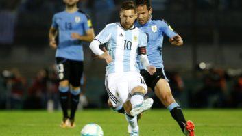 خلاصه بازی فوتبال اروگوئه و آرژانتین
