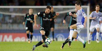 پیروزی پر گل رئال مادرید مقابل سوسیه داد