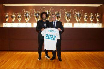 تمدید قرارداد مارسلو تا سال 2022 با رئال مادريد