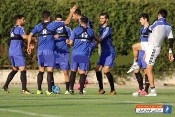 تمرین تیم ملی فوتبال ایران زیر نظر کارلوس کی روش