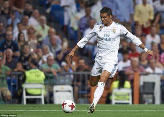 حرکت دیدنی رونالدو در تمرینات رئال مادرید