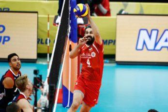 خلاصه دیدار تیم ملی والیبال ایران و آمریکا