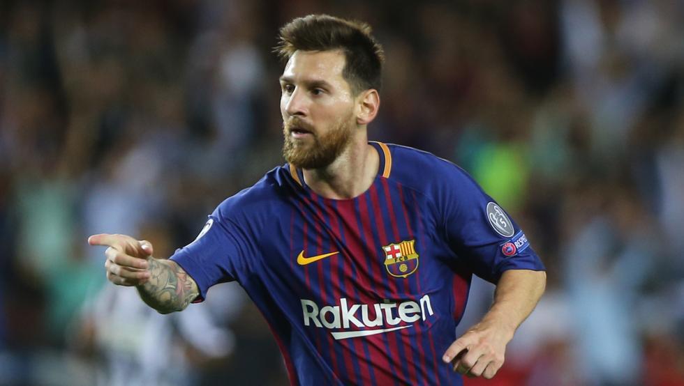حرکات تکنیکی برتر لیونل مسی در بارسلونا ؛ خبرگزاری پارس فوتبال