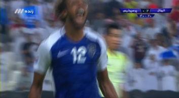 گل دوم الهلال به پرسپولیس در بازی های لیگ قهرمانان آسیا 4 مهرماه 96