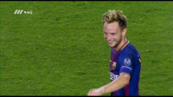 گل دوم بارسلونا به یوونتوس