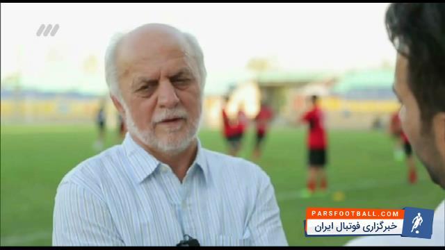 کلیپی از پیش بینی جالب محمود خوردبین در خصوص نتیجه ی بازی پرسپولیس و الاهلی