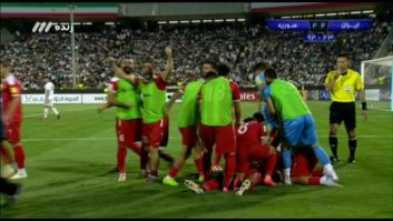 گل دوم سوریه به تیم ملی ایران