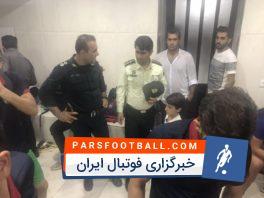 کلیپی از درگیری های بازی شهرداری ماهشهر و نساجی مازندران.