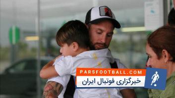 مسی به تمرینات بارسلونا بازگشت