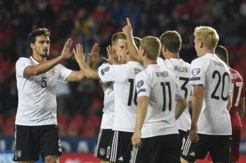خلاصه بازی تیم ملی آلمان و چک