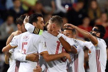 تیم ملی فوتبال اسپانیا - لیختن اشتاین