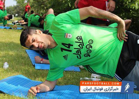 علی کریمی تمرین کرد، پورقاز اجازه تمرین گرفت ؛ آخرین وضعیت دو ستاره ملیپوش کرانچار