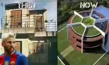 خانه رونالدو و سایر ستارگان قبل و بعد از شهرت