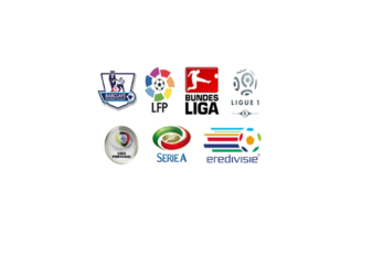 نتایج فوتبال باشگاهی شامل لیگ برتر انگلیس ، لالیگا اسپانیا ، سری آ ایتالیا