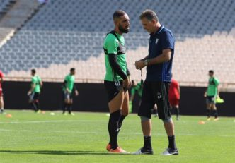 نخستین تمرین تیم ملی فوتبال ایران پیش از دیدار مقابل سوریه - دژاگه - کی روش