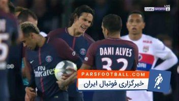 درگیری های نیمار در زمین فوتبال