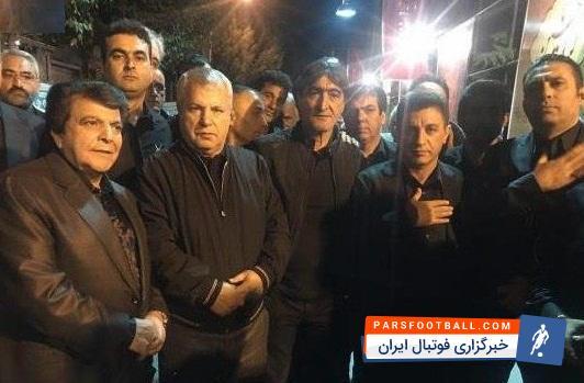 قلعه نویی و محمد خانی در هیات عزاداری علی پروین