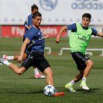 ترین های رئال مادرید در تمرینات