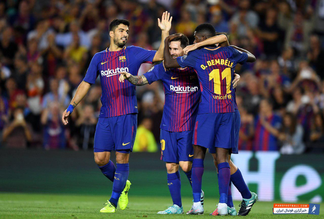 شروع درخشان بارسلونا با والورده