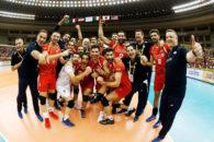 پیروزی تیم ملی والیبال ایران برابر فرانسه