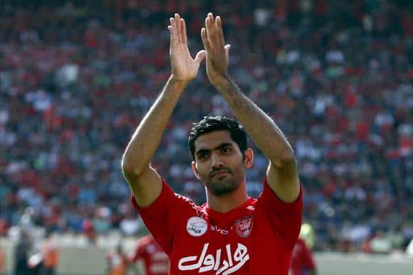 محمد انصاری و شجاع خلیل زاده دو بازیکن پرسپولیس در تمرین دیروز این تیم مصدوم شدند