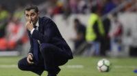 والورده سرمربی بارسلونا به دنبال برد برابر المپیاکوس در لیگ قهرمانان اروپا است