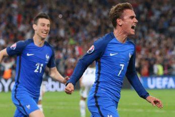تمرینات تیم ملی فوتبال فرانسه
