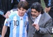 مارادونا : من مسی را خیلی دوست دارم و او برای اثبات لیاقتش لزوما نیازی به فتح جام جهانی ندارد