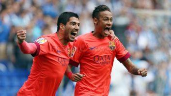 لحظات برتر سوارز و نیمار در بارسلونا