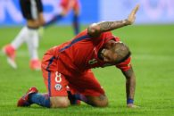 ویدال : به تیم شیلی افتخار می کنم