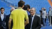 پرز رئیس باشگاه رئال مادرید از یورنته مهاجم تاتنهام خواست که در بازی دو تیم زیاد ندود