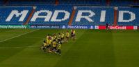 تیم فوتبال تاتنهام آخرین تمرین خود را در زمین تیم فوتبال رئال مادرید انجام داد