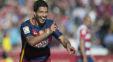 خوشحالی بحث برانگیز سوارز در مقابل هواداران تیم فوتبال اتلتیکو مادرید