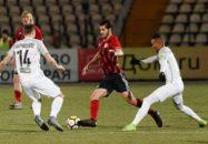 عملکرد خوب سعید عزت اللهی در ترکیب تیم فوتبال آمکار در دیدار برابر توسنو