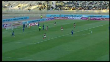 گل سوم پرسپولیس به استقلال خوزستان