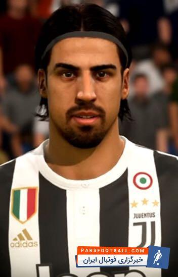 نارضایتی سامی خدیرا بازیکن یووه  از موهای بلندش در بازی فیفا 2018