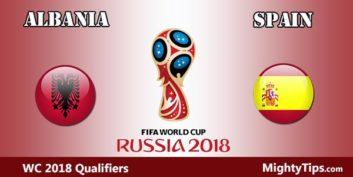 خلاصه بازی تیم فوتبال اسپانیا و آلبانی
