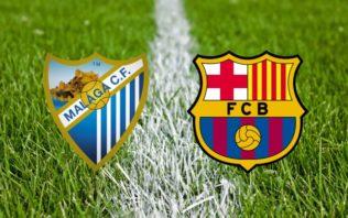 خلاصه بازی بارسلونا و مالاگا